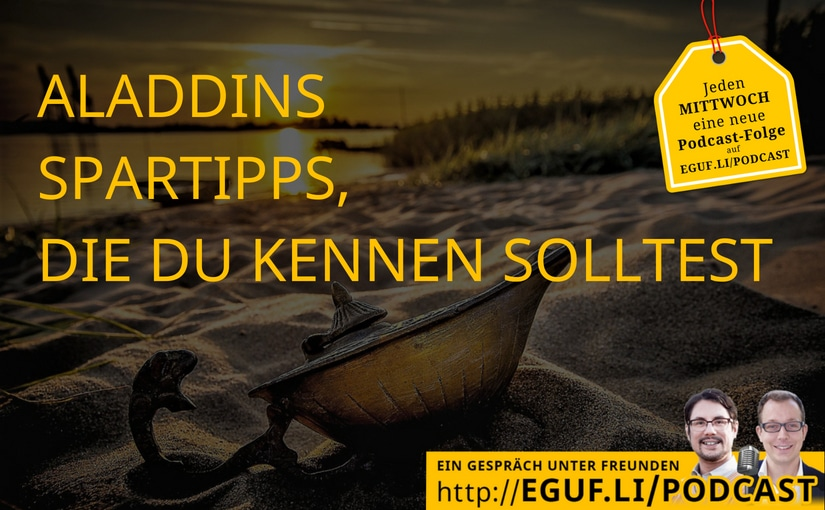 Aladdins Spartipps, die Du kennen solltest - Coverbild
