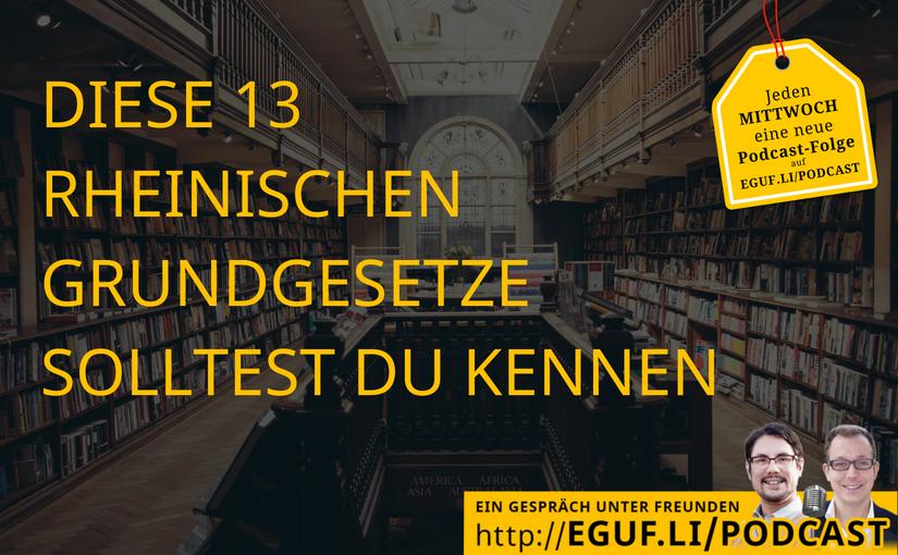 Diese 13 rheinischen Grundgesetze solltest Du kennen - Cover