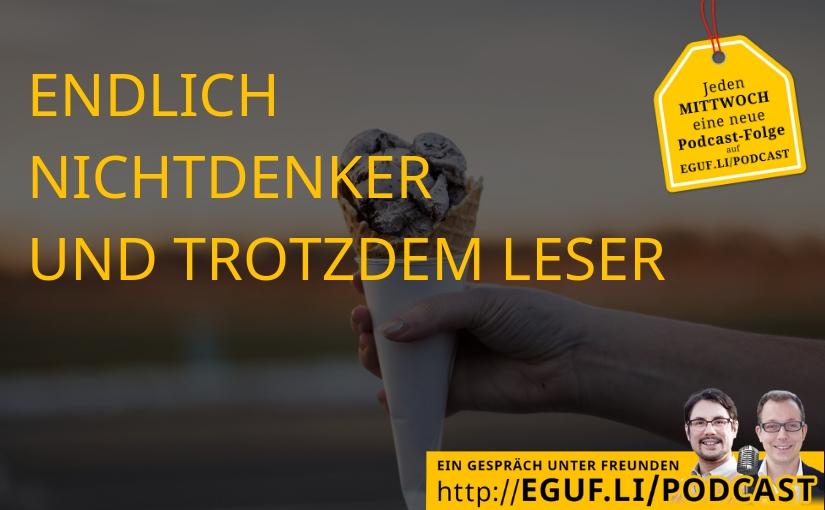 Endlich Nichtdenker und trotzdem Leser - EGUF-WEB-Cover