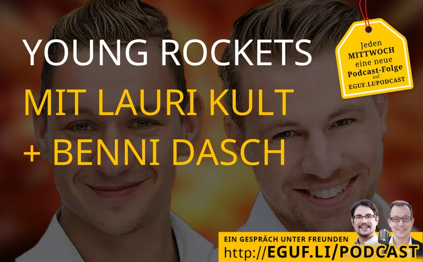 Young Rockets mit Benni Dasch + Lauri Kult - WEB-Cover