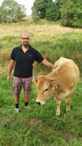 Platon und Kuh